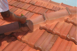 Terracotta Tile Roof Restoration - Residential - Image 5 - Repoint