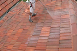 Terracotta Tile Roof Restoration - Residential - Image 7 - 2nd Coat