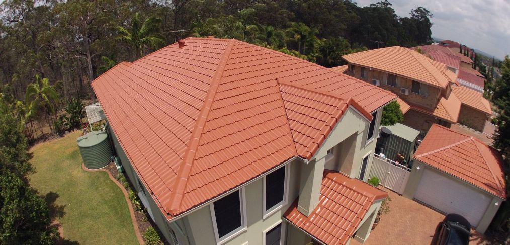 Tiled Roof Painting Redlands